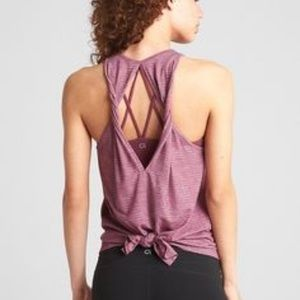 GapFit Breathe Open Back Tank Top
